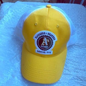 Oakland Athletics A's GMC Fitted Hat Yellow